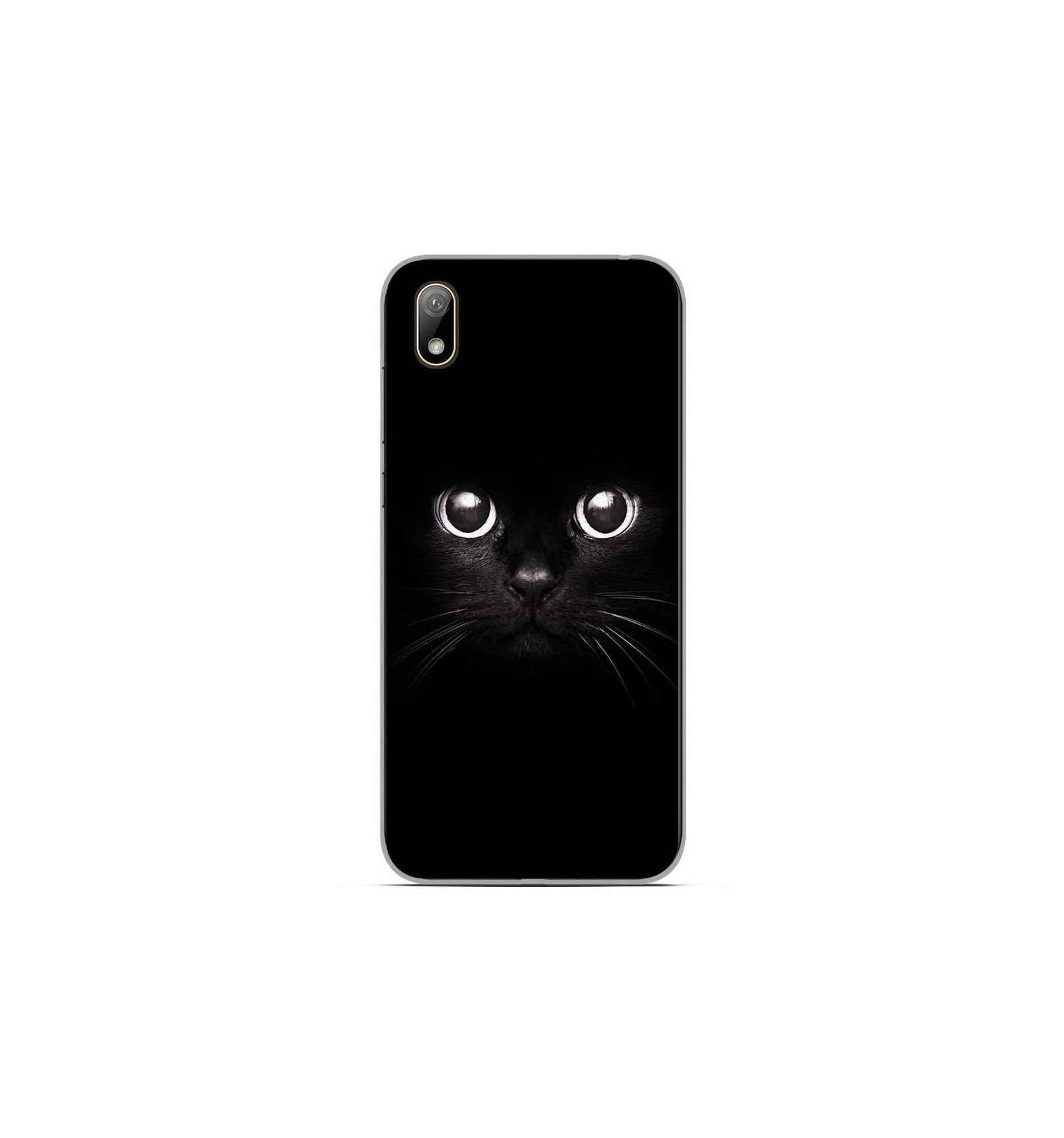 Coque en silicone Huawei Y5 2019 - Yeux de chat