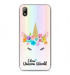 Coque en silicone Huawei Y5 2019 - Unicorn World