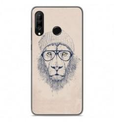 Coque en silicone Huawei P30 Lite - BS Cool Lion