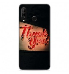 Coque en silicone Huawei P30 Lite - Thank You