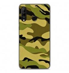 Coque en silicone Huawei P30 Lite - Camouflage