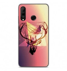 Coque en silicone Huawei P30 Lite - Cerf Hipster