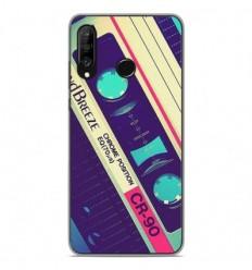 Coque en silicone Huawei P30 Lite - Cassette Vintage