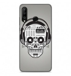 Coque en silicone Huawei P30 Lite - Skull Music