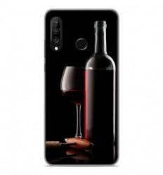 Coque en silicone Huawei P30 Lite - Vin