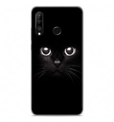 Coque en silicone Huawei P30 Lite - Yeux de chat