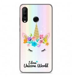 Coque en silicone Huawei P30 Lite - Unicorn World