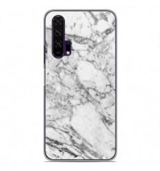 Coque en silicone Huawei Honor 20 Pro - Marbre Blanc