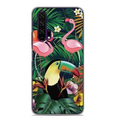 Coque en silicone Huawei Honor 20 Pro - Tropical Toucan