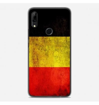 Coque en silicone Huawei P Smart Z - Drapeau Belgique