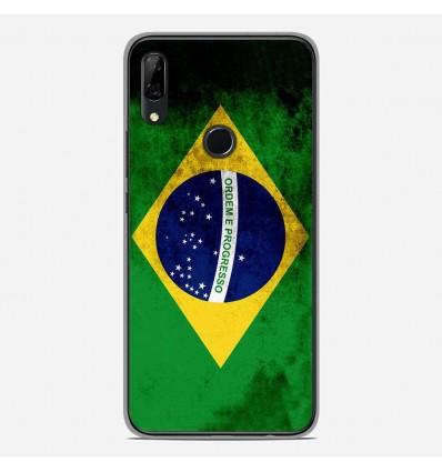Coque en silicone Huawei P Smart Z - Drapeau Brésil