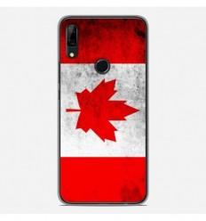Coque en silicone Huawei P Smart Z - Drapeau Canada