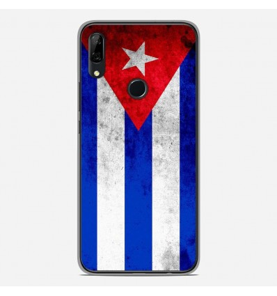 Coque en silicone Huawei P Smart Z - Drapeau Cuba