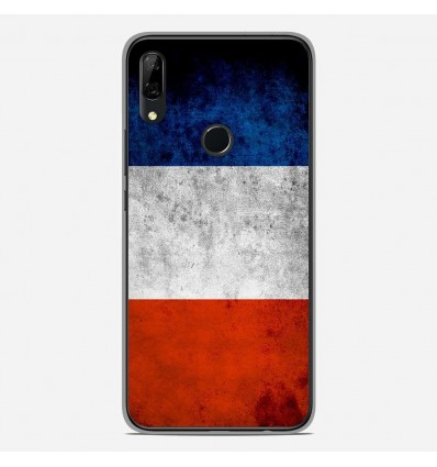 Coque en silicone Huawei P Smart Z - Drapeau France