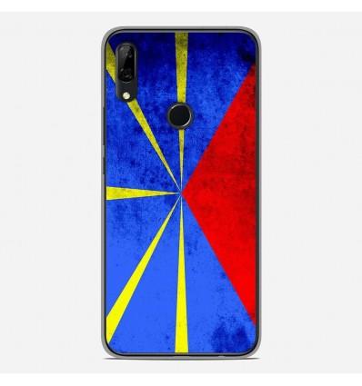 Coque en silicone Huawei P Smart Z - Drapeau La Réunion