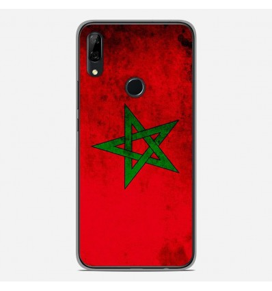 Coque en silicone Huawei P Smart Z - Drapeau Maroc