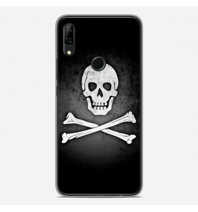 Coque en silicone Huawei P Smart Z - Drapeau Pirate