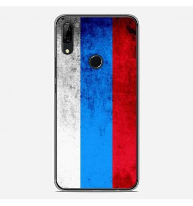 Coque en silicone Huawei P Smart Z - Drapeau Russie