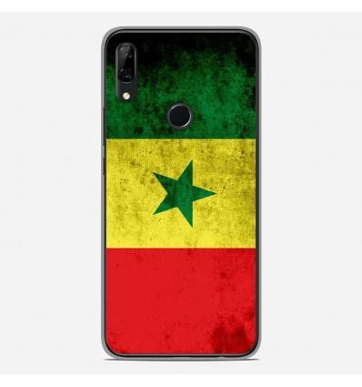 Coque en silicone Huawei P Smart Z - Drapeau Sénégal