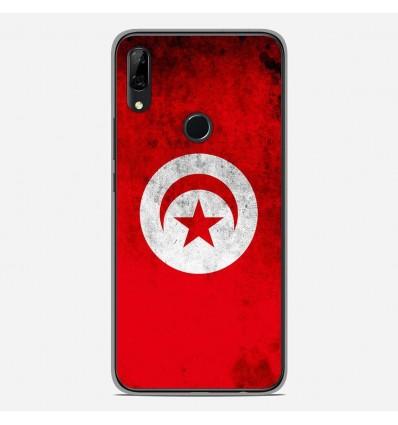 Coque en silicone Huawei P Smart Z - Drapeau Tunisie