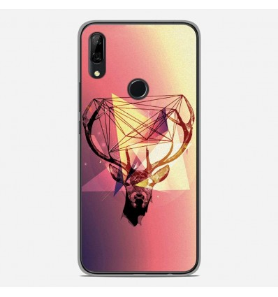 Coque en silicone Huawei P Smart Z - Cerf Hipster