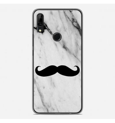 Coque en silicone pour Huawei P Smart Z - Hipster Moustache