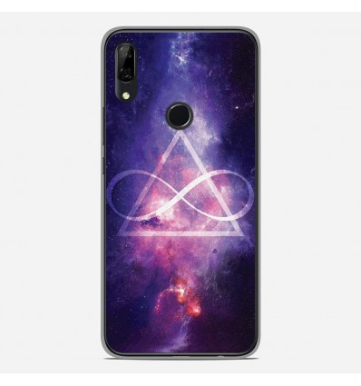 Coque en silicone Huawei P Smart Z - Infinite Triangle