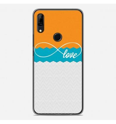 Coque en silicone Huawei P Smart Z - Love Orange