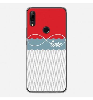 Coque en silicone Huawei P Smart Z - Love Rouge