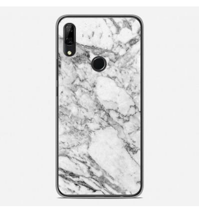 Coque en silicone Huawei P Smart Z - Marbre Blanc