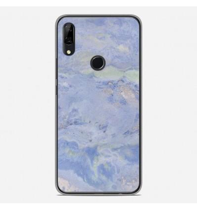 Coque en silicone Huawei P Smart Z - Marbre Bleu