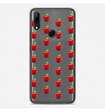 Coque en silicone Huawei P Smart Z - Pommes Gris