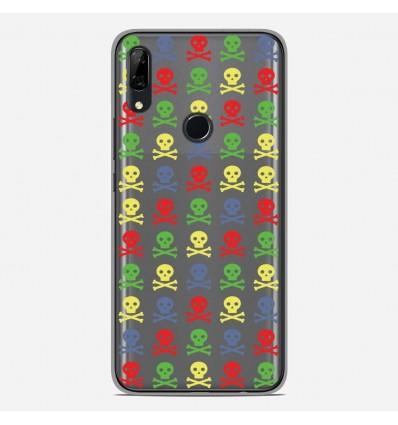 Coque en silicone Huawei P Smart Z - Skull Couleur