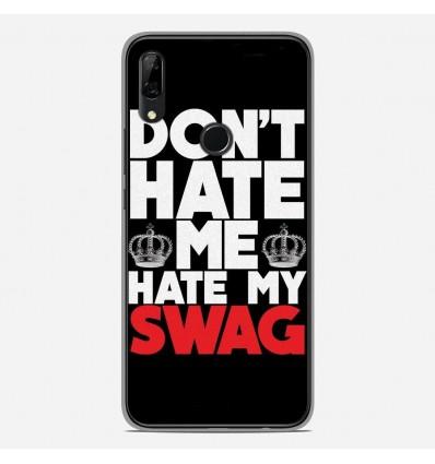 Coque en silicone Huawei P Smart Z - Swag Hate