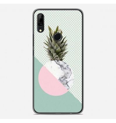Coque en silicone Huawei P Smart Z - Ananas marbre