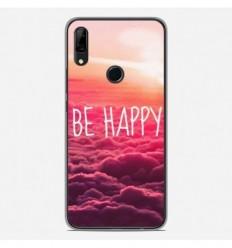 Coque en silicone Huawei P Smart Z - Be Happy nuage