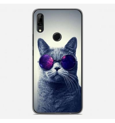 Coque en silicone Huawei P Smart Z - Chat à lunette
