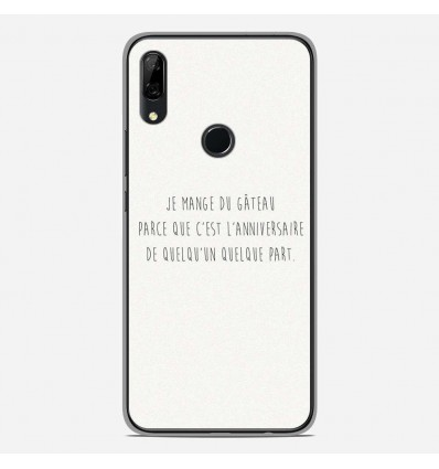 Coque en silicone Huawei P Smart Z - Citation 12