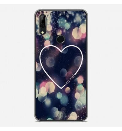 Coque en silicone pour Huawei P Smart Z - Coeur Love