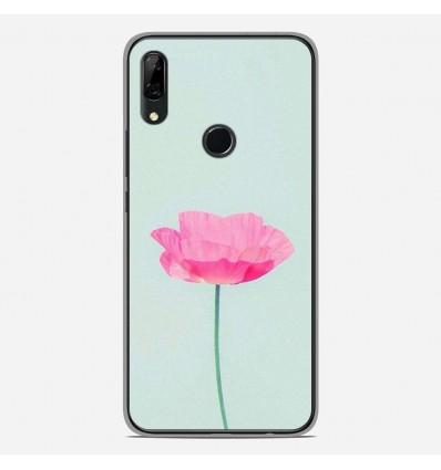 Coque en silicone Huawei P Smart Z - Fleur Rose
