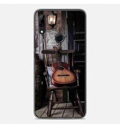 Coque en silicone Huawei P Smart Z - Guitare