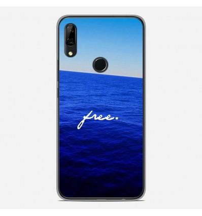 Coque en silicone Huawei P Smart Z - Océan free