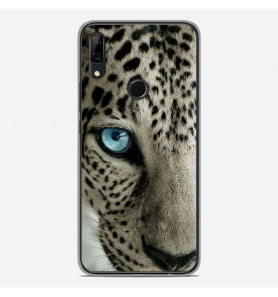 Coque en silicone Huawei P Smart Z - Oeil de léopard