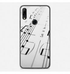 Coque en silicone Huawei P Smart Z - Partition de musique
