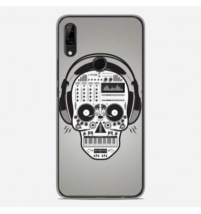 Coque en silicone Huawei P Smart Z - Skull Music
