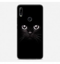 Coque en silicone Huawei P Smart Z - Yeux de chat