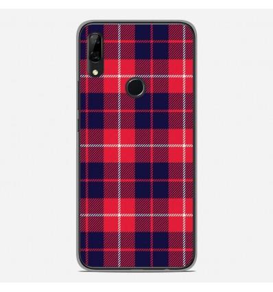 Coque en silicone Huawei P Smart Z - Tartan Rouge 2