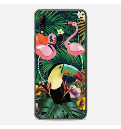 Coque en silicone Huawei P Smart Z - Tropical Toucan