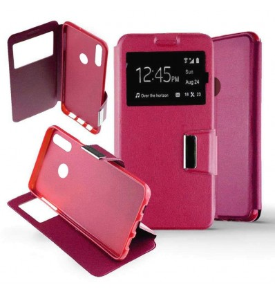 Etui Folio Huawei P Smart 2019 - Rose