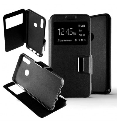 Etui Folio Huawei Honor 10 Lite - Noir